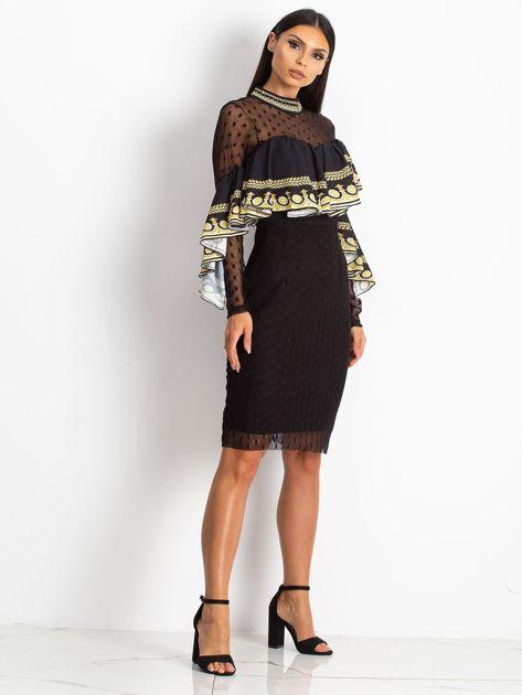 Czarna sukienka Clair                              zdj.                              4