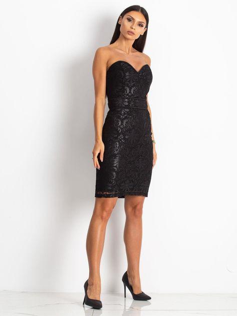 Czarna sukienka Diamond                              zdj.                              4