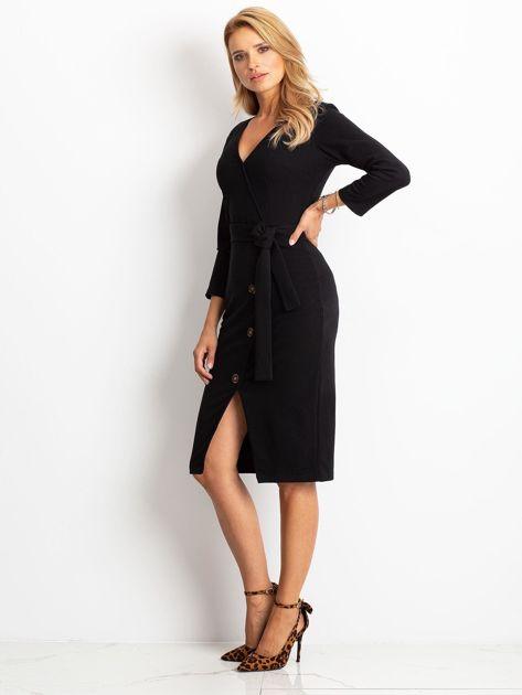 Czarna sukienka Future                              zdj.                              3