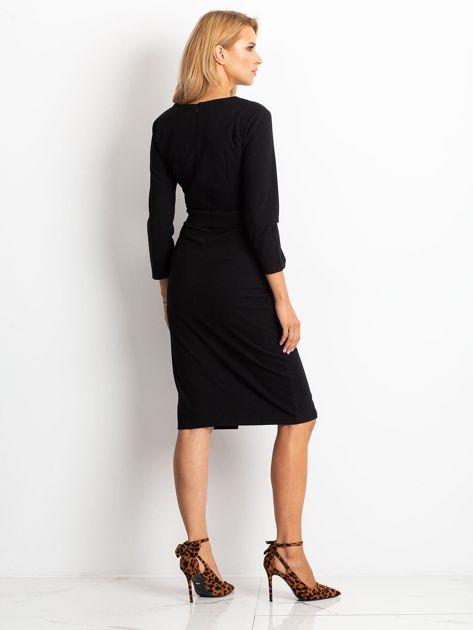 Czarna sukienka Future                              zdj.                              2