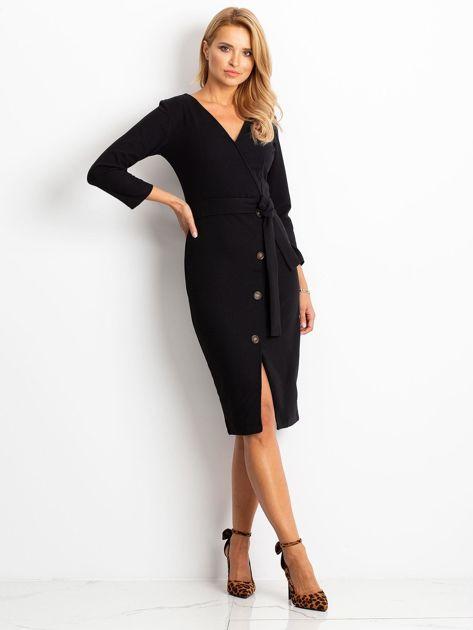 Czarna sukienka Future                              zdj.                              4