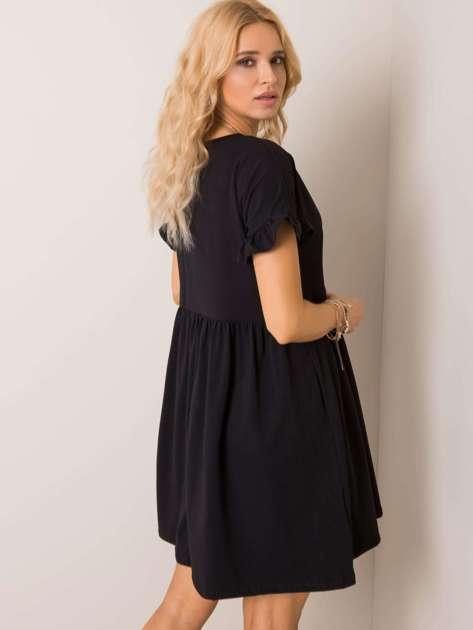 Czarna sukienka Marietta RUE PARIS