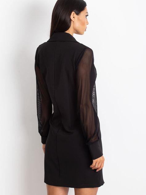 Czarna sukienka Master                              zdj.                              2
