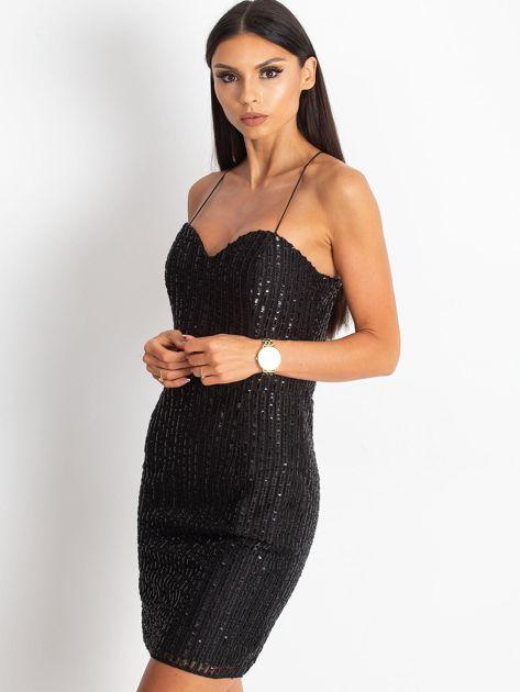 Czarna sukienka Sequin                              zdj.                              3