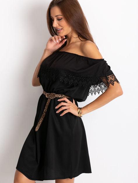 Czarna sukienka Serenity                              zdj.                              3