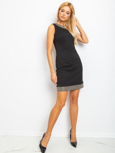 Czarna sukienka Shane                              zdj.                              4