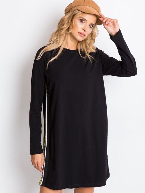 Czarna sukienka Temple                              zdj.                              1