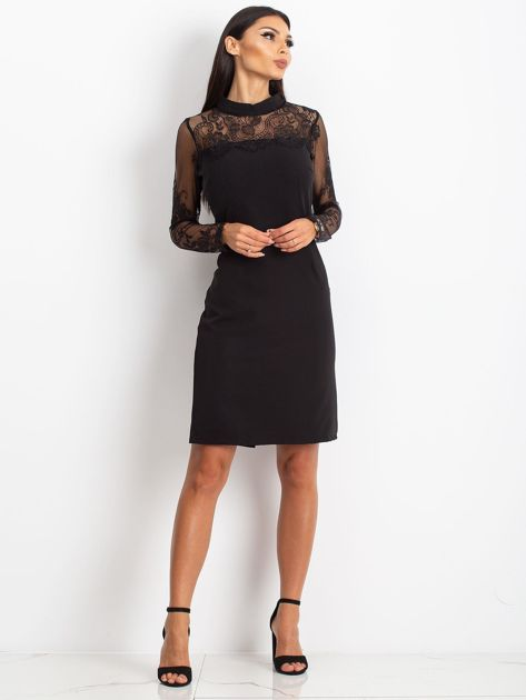 Czarna sukienka Time                              zdj.                              4