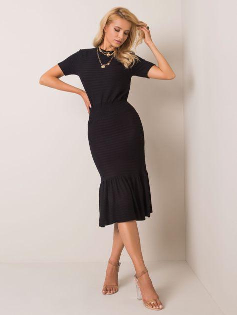 Czarna sukienka Yumi RUE PARIS
