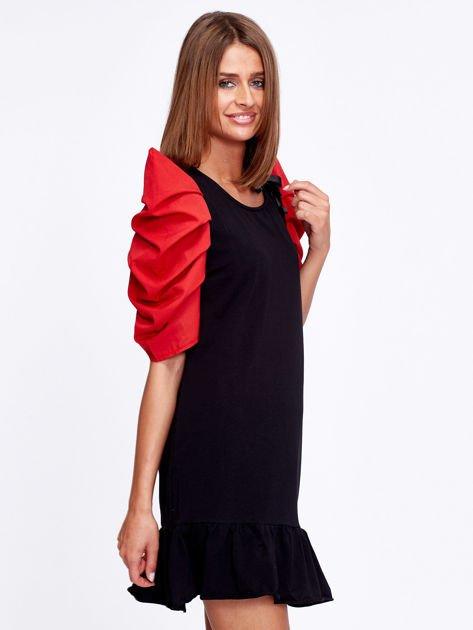 Czarno-czerwony strój wróżki                              zdj.                              3