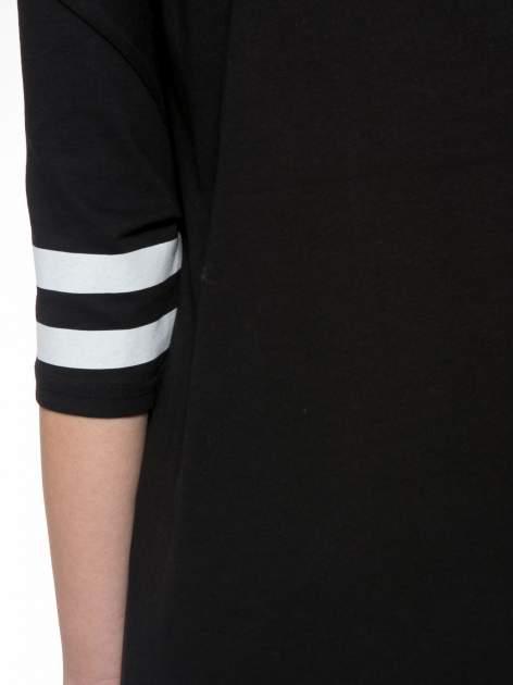 Czarna sukienka z numerem w stylu baseball dress                                  zdj.                                  8