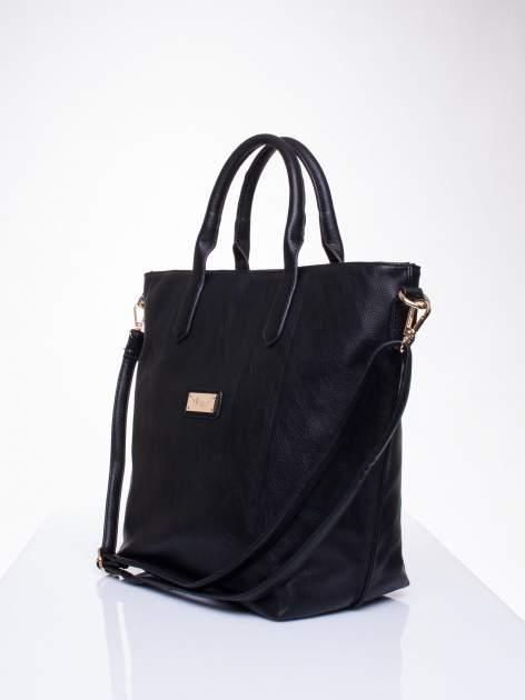Czarna torba damska do ręki                                  zdj.                                  3