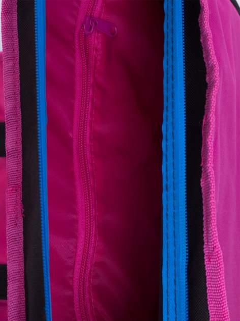 Czarna torba szkolna na rzep DISNEY Violetta                                  zdj.                                  4
