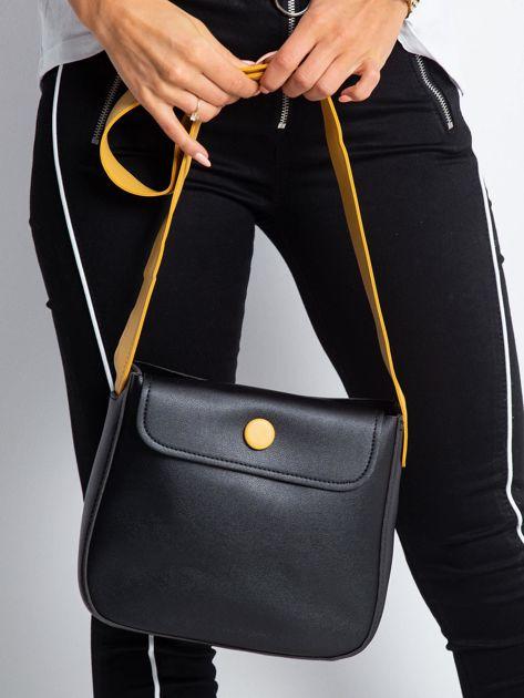Czarna torebka na ramię                              zdj.                              1