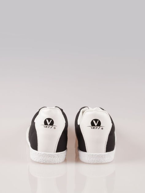 Czarne buty sportowe w stylu casual Kash                                  zdj.                                  3