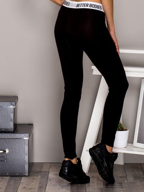 Czarne legginsy BETTER BODIES                              zdj.                              2