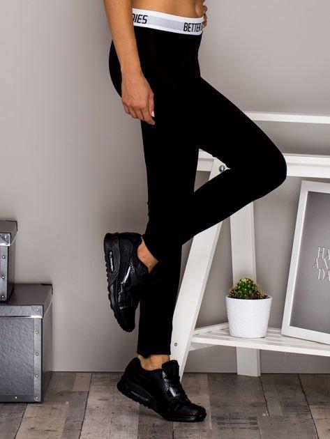 Czarne legginsy BETTER BODIES                              zdj.                              3
