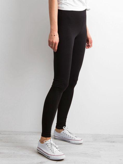 Czarne legginsy Basic                              zdj.                              3
