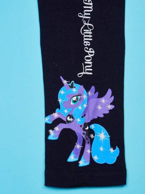 Czarne legginsy dla dziewczynki MY LITTLE PONY                                   zdj.                                  4