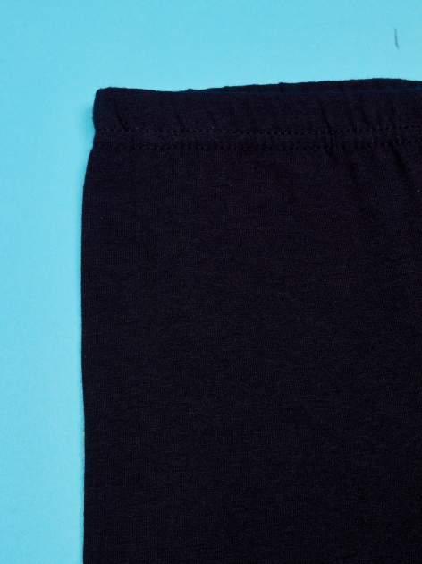 Czarne legginsy dla dziewczynki z motywem FURBY                                  zdj.                                  3