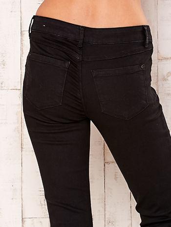 Czarne proste spodnie                                   zdj.                                  5