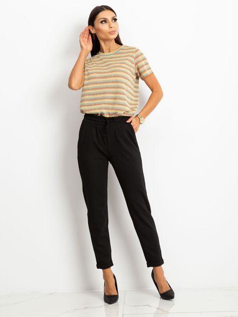 Czarne spodnie Journee                              zdj.                              4