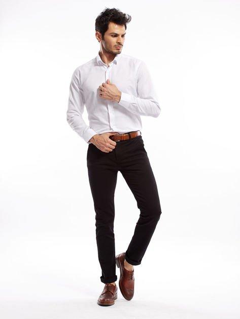 Czarne spodnie męskie slim fit                              zdj.                              17