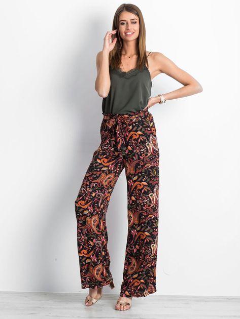 Czarno-różowe spodnie Fairytail                              zdj.                              4