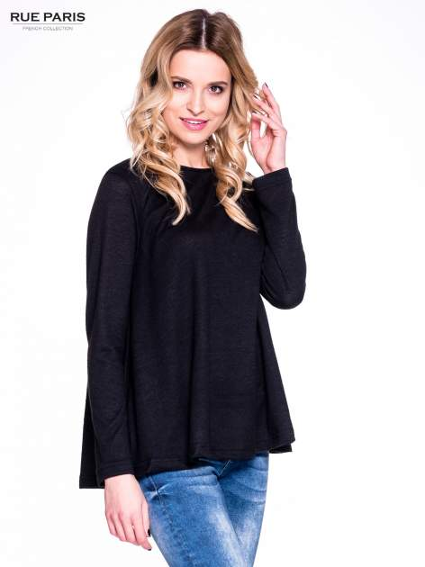 Czarny klasyczny sweterek                                  zdj.                                  3