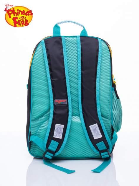 Czarny plecak szkolny DISNEY Fineasz i Ferb                                  zdj.                                  4