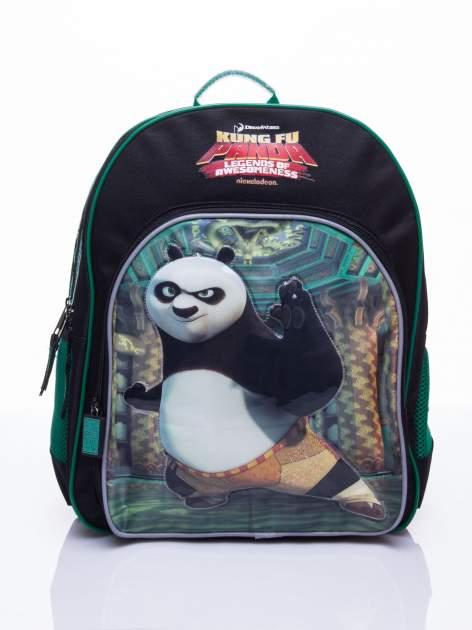 Czarny plecak szkolny DISNEY Kung Fu Panda                                  zdj.                                  1