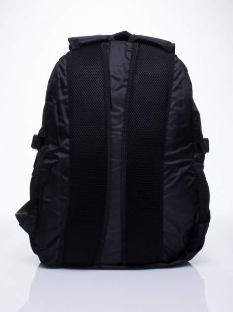Czarny plecak szkolny DISNEY w łodzie                                  zdj.                                  4