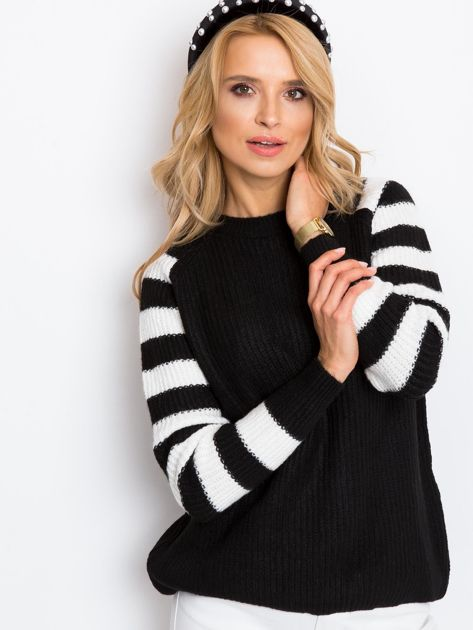 Czarny sweter Independent                              zdj.                              1