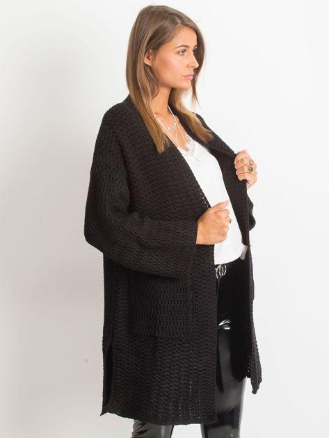 Czarny sweter Luna                              zdj.                              3