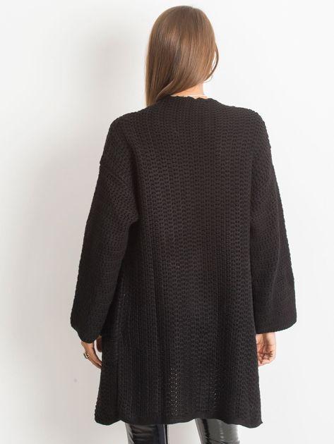 Czarny sweter Luna                              zdj.                              2