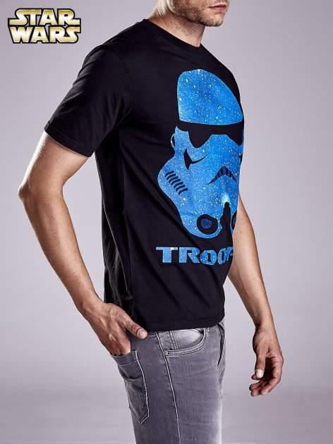 Czarny t-shirt męski STAR WARS                                  zdj.                                  3