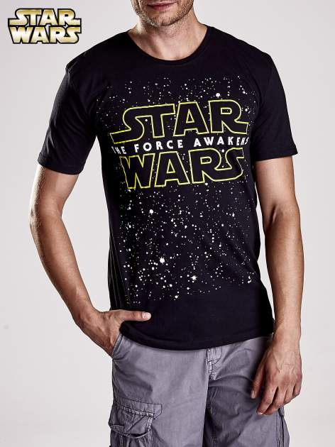 Czarny t-shirt męski motyw STAR WARS                                  zdj.                                  6