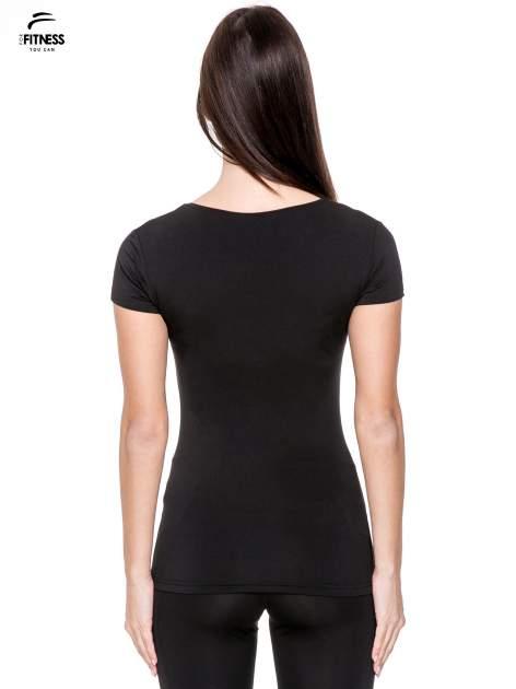 Czarny termoaktywny t-shirt sportowy typu basic ♦ Performance RUN                                  zdj.                                  4