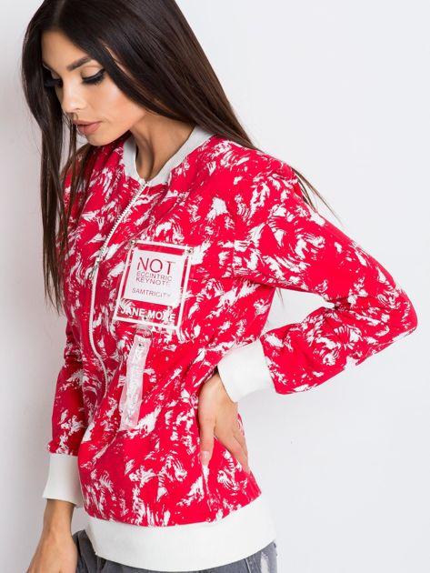 Czerwona bluza Jane                              zdj.                              3