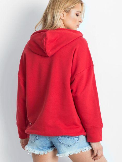 Czerwona bluza Replicating                              zdj.                              2