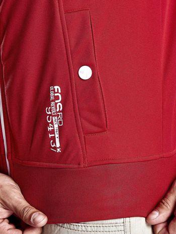 Czerwona bluza męska z kieszeniami na suwak Funk n Soul                                  zdj.                                  9