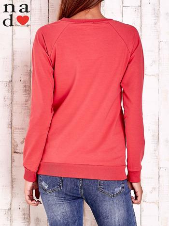 Czerwona bluza z łapaczem snów                                  zdj.                                  4