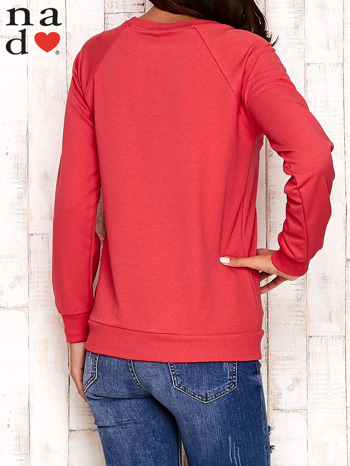 Czerwona bluza z serduszkami                                  zdj.                                  4