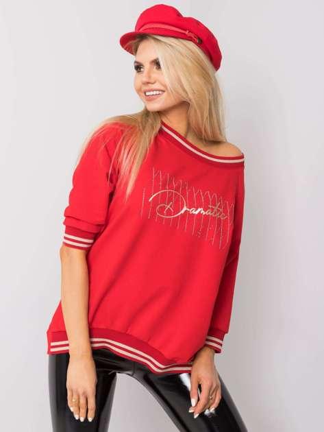 Czerwona bluzka Linda