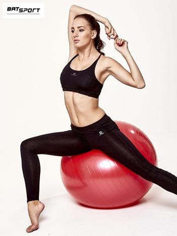 Czerwona duża piłka fitness                                   zdj.                                  7