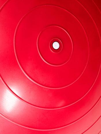 Czerwona duża piłka fitness                                   zdj.                                  4