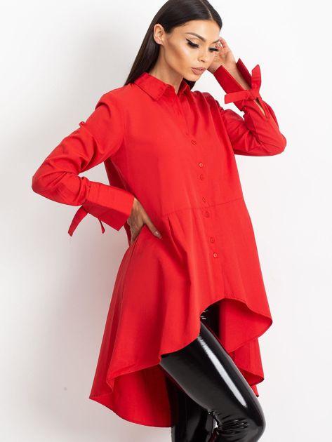 Czerwona koszula Sydney                              zdj.                              3