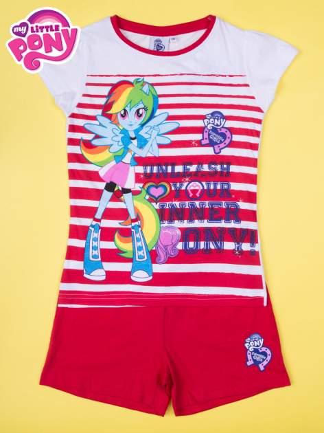 Czerwona piżama dla dziewczynki MY LITTLE PONY                                  zdj.                                  1