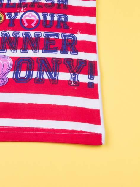 Czerwona piżama dla dziewczynki MY LITTLE PONY                                  zdj.                                  8