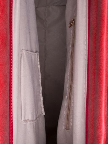 Czerwona siateczkowa torba hobo                                  zdj.                                  5